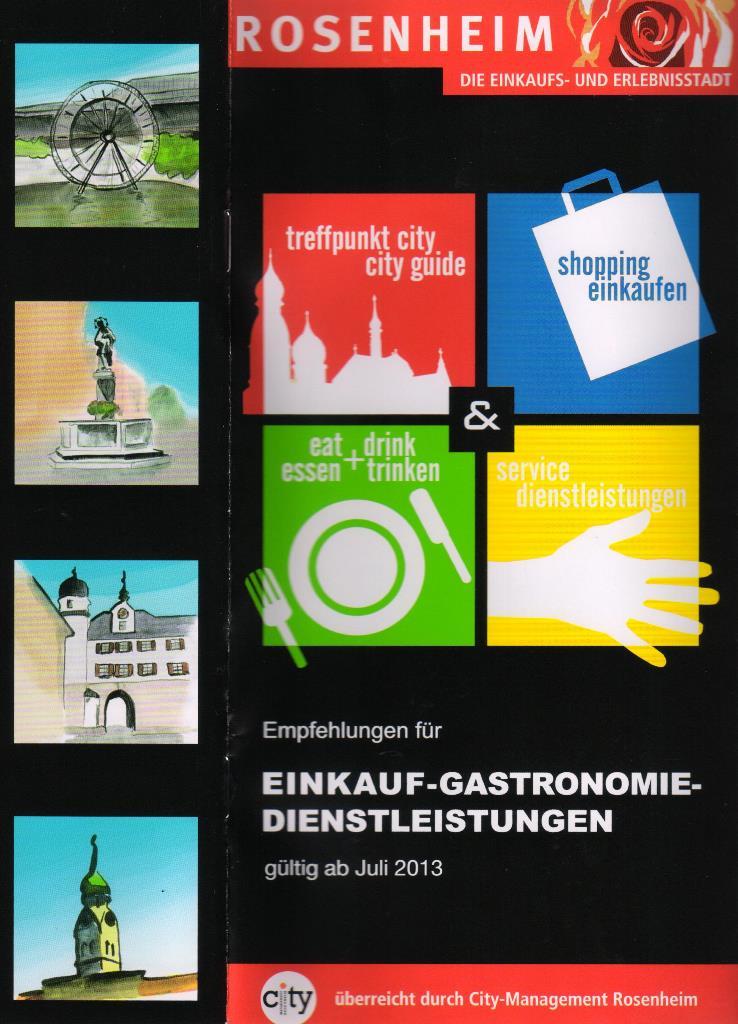Texte für Imagebroschüre City-Management Rosenheim