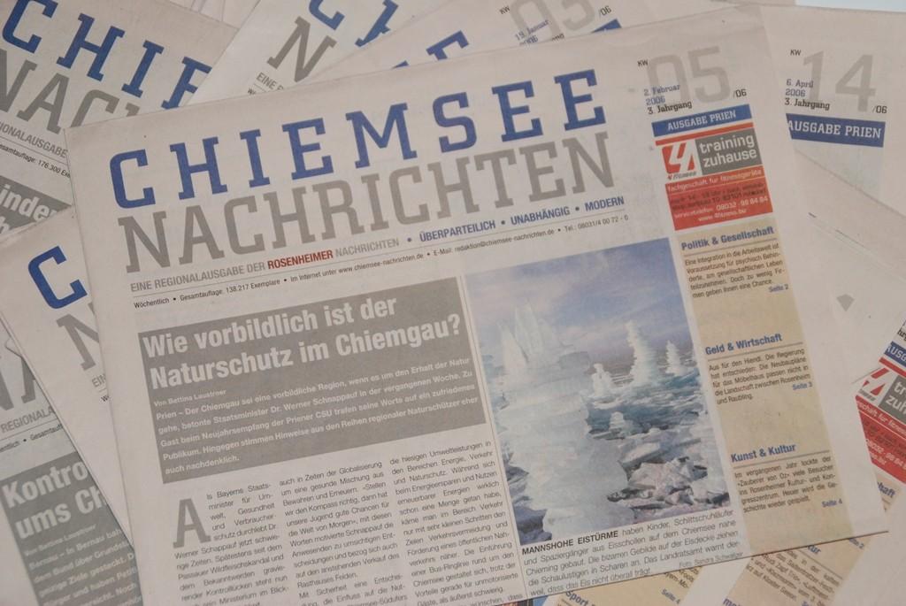 Redaktion für Wochenzeitung