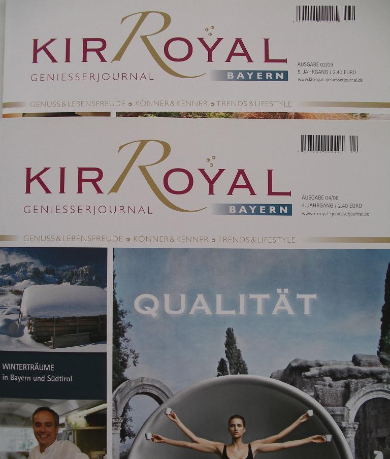 Lektorat für Kir Royal